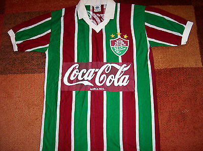 1980's Fluminense Football Shirt Brazil Adults Large Camisa Top Jersey