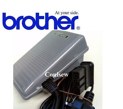 Brother Genuine Sewing Machine Foot control/Pedal Complete + Power Lead - Type N