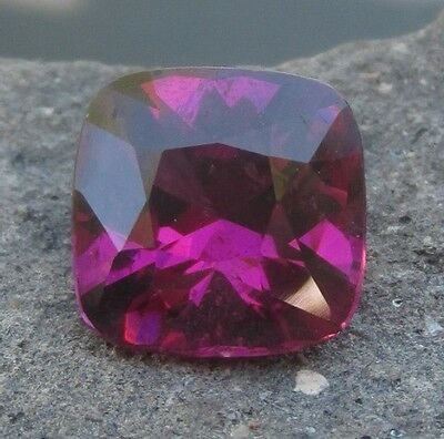 3.38 cts - Intense Mozambique Purple/Magenta Rhodolite Garnet! With Video!