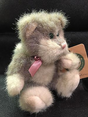 Boyds Bears Cat - Tennyson. Retired. Rare in UK. FREE P&P