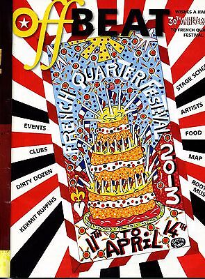 Off Beat Magazine - Complete French Quarter Festival Guide - New Orleans 2013