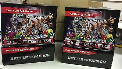 Dice Masters D&D Two 90ct Gravity Feed Boxes NEW SEALED shipper box - Canada