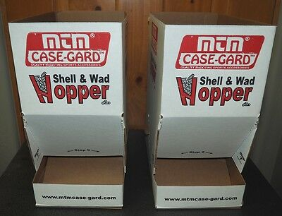 MTM Case-Gard Shell & Wad Hopper Set-NEW