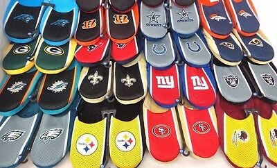 NFL Jersey Slide in Slippers by Forever Collectibles Select Size AND Team Below