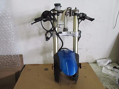 06 07  Kawasaki Zx 10R Complete  Front End   Less Axle     Zx10R Forks Trees
