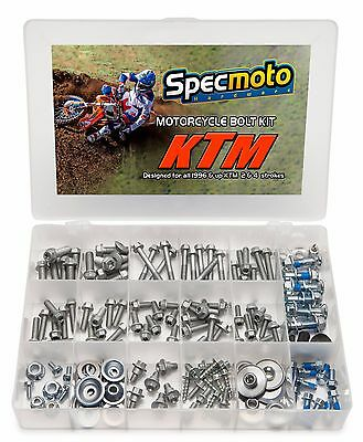 Race Bolt Kit KTM Factory Match Hardware Torx Flange Sprocket Rotors Plastics