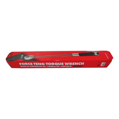 Teng Tools - 1/2 Drive Torque Wrench 70-350Nm  50-250 ft lb 1292AG-E4