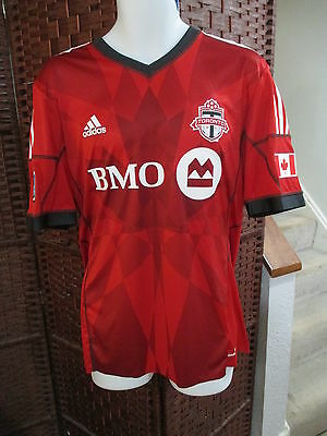 NWT Authentic Adidas Toronto FC Jermain Defoe Autographed Soccer Jersey XL TFC