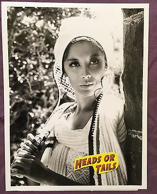 Cbs France Nuyen 9X7 Press Photo - Hawaii Five-O 1971 W/cbs Tag