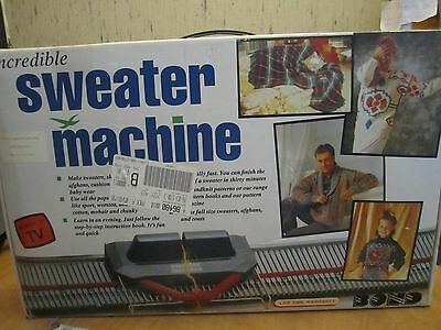 Incredible Sweater Knitting Machine-Made In England-1998