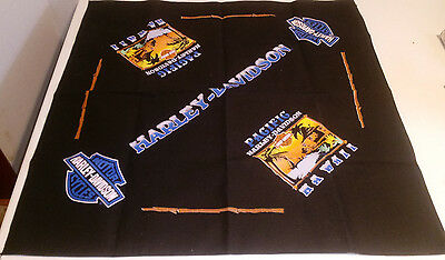 "Harley Davidson Pacific Hawaii Bandana 21"" Square"