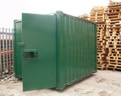 10ft x 8ft Anti Vandal Container - Racing Green - Excellent condition