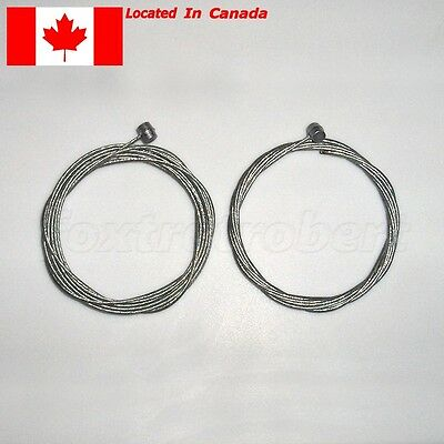 Bike Bicycle Brake Cable Line Inner Wire. Approx 175cm. 2pcs