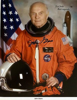 John Glenn Autographed 8X10 Photo Signed  Authenticated Not Personalized Rare