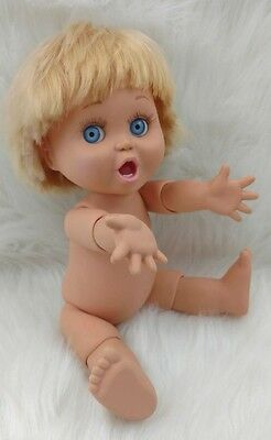 Baby Face So Surprised Suzie #2 Galoob Doll Nude Blue Eyes Blond Hair G