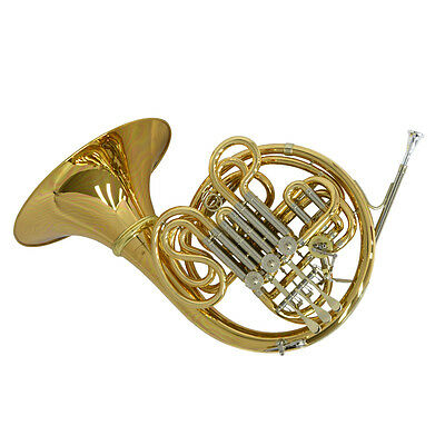 Schiller American Elite VI(A) French Horn w/Detachable Bell -Yellow Brass/Nickel