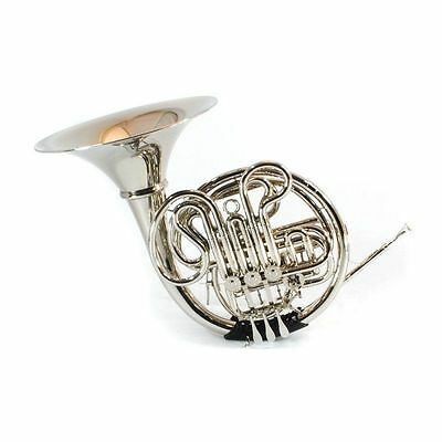Schiller Elite V Professional French Horn Nickel
