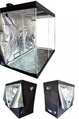 Indoor Grow Tent Room Reflective Hydroponic Non Toxic 600D Hut Mylar Home Garden