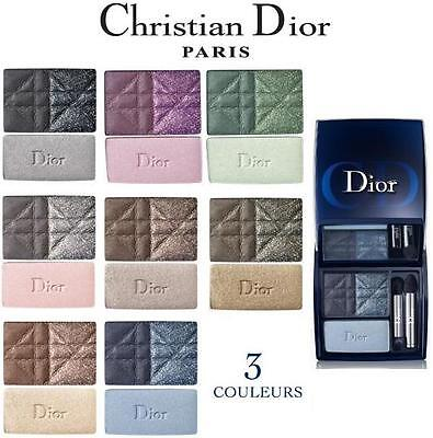 Dior 3 Couleurs Smoky Ready-To-Wear Smoky Eyes Palette Ombretti Eyeshadow - New