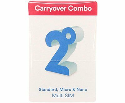 New Zealand 2 Degrees Carryover Combo Prepaid SIM