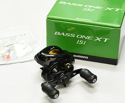 2017 NEW Shimano BASS ONE XT 151 (LEFT HANDLE) Bait Casting Reel