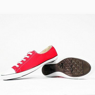 4d12eb19cbccd3 CONVERSE ALL STAR Chuck Taylor OX light 511533F Red Women Shoes ...