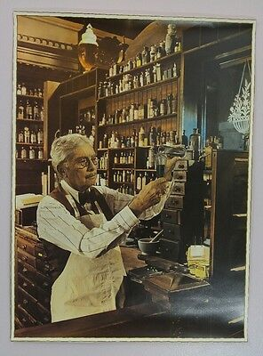 French Apothecary Pharmacy Medicine Mixing Vintage Antique 12X16 Photo Print