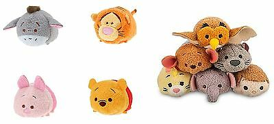 Disney Store Winnie The Pooh and Friends Set of 10 Mini Tsum Tsums