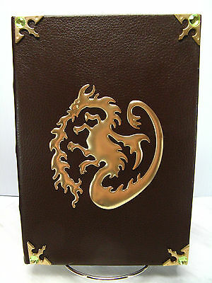 NEW Disney DESCENDANTS Mal's Spell Book JOURNAL Notebook DIARY Faux Leather GIFT