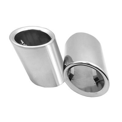 Stainless Rear Exhaust Tip Muffler Tail End Pipe Trim P&P For BMW 5 Series#9