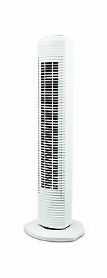 "Sunbeam 31"" Oscillating Tower Fan White"