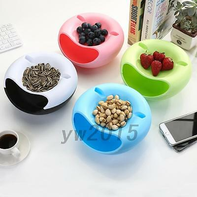 Bowl Shape Seeds Nuts Dry Fruits Storage Box Melon Seeds Candy Garbage Practical