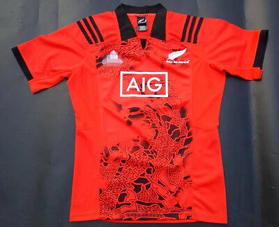 2017 The New Zealand all blacks  rugby jersey shirt tops quality