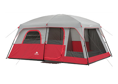 Ozark Trail Outdoor Instant Shelter Camping Hiking Cabin Tent 10 Person 2 Room
