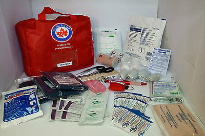 Emergency Sports First Aid Kit