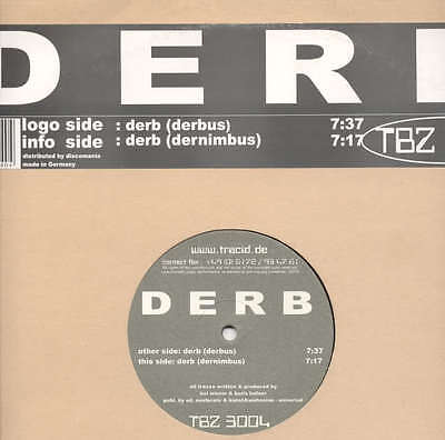 "DERB - DERB Tracid Beta Filez 3004 - TRANCE 12"" DJ MIX"