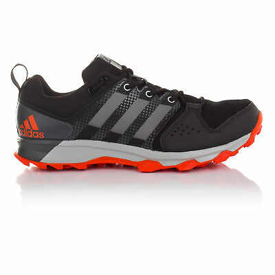 Adidas Galaxy Mens Grey Black Trail Running Sports Shoes Trainers Sneakers