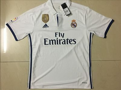 New Real Madrid Home/AWAY Cristiano Ronaldo Soccer Jersey champions league patch