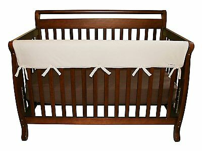 Trend Lab Fleece CribWrap Rail Covers for Crib Sides (Set of 4) - Retails $60