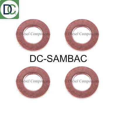 Diesel Injector Washers / Seals for Nissan X-Trail 2.2 - Pack of 4
