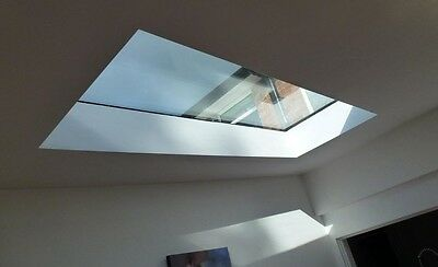 Skylight For Flat Roofs Custom Made Any size Flat Rooflight-Free London Delivery