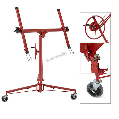 Professional 11FT Drywall Hoist Lift Plasterboard Panel Lifter Lifting Workshop