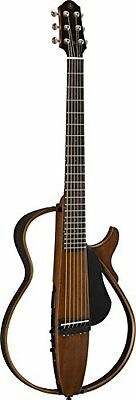 Yamaha silent guitar steel strings specification natural SLG200S NT