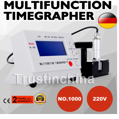 Multifunction Zeitwaagen Watch Timegrapher Nr.1000 Timing Calibration Machine