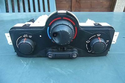 RENAULT MEGANE/SCENIC MK2 Pre Facelift, HEATER CONTROL PANEL WITH A/C SWITCH