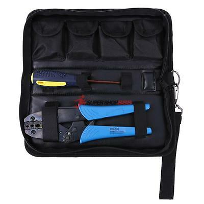 Ratchet Terminal Crimping Crimper Plier Non-insulated Cable 0.5-6mm2 AWG20-10