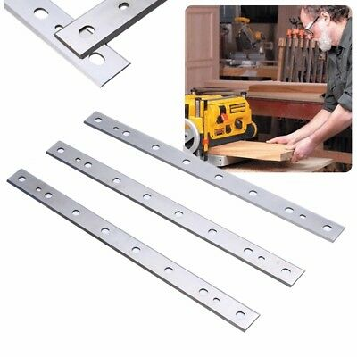 """12-1/2"""" High-speed Steel Planer Blade For DW734 DW7342 Replacement 3 Pack"""