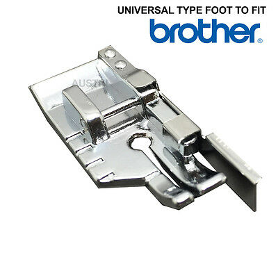 1/4 INCH PATCHWORK QUILTING FOOT + GUIDE Fits BROTHER SEWING MACHINES