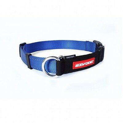 EZYDOG - Check Mate Dog Collar Blue Large 44-65cm - Free Delivery