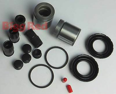 Volvo S80 2.5 T 2003-2006 REAR Brake Caliper Seal & Piston Repair Kit (2) BRKP82